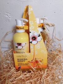 Manuka Honey Shower gel & Body Lotion gift pack