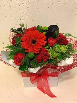 A Merry Christmas Boxed Arrangement